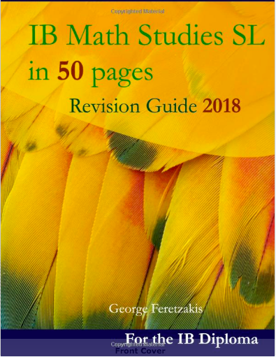 IB Math Studies in 50 pages: 2018-2019