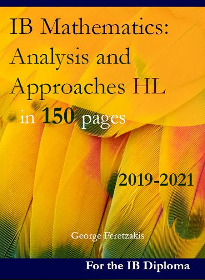 IB Mathematics analysis and approaches HL