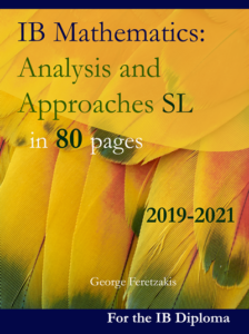 IB Mathematics: Analysis and Approaches, Standard Level