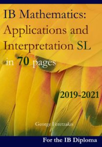 IB Mathematics: Applications and Interpretation, Standard Level